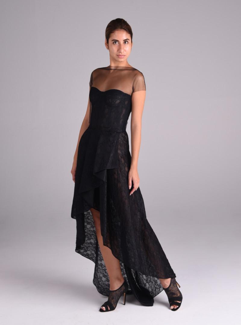 Disenos vestidos fiesta alta costura